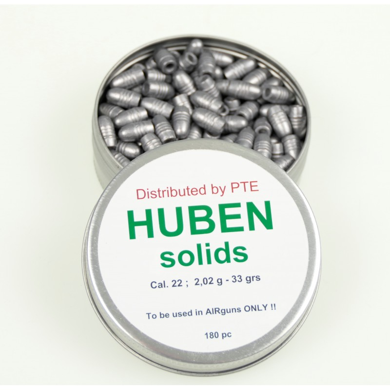 Huben  22 solidpellet 33 grains