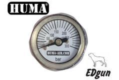 Edgun manometer 28mm 1/8 BSP