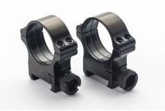 Rusan-Mikron Steel Precision Tactical Picatinny Rings 34mm H12